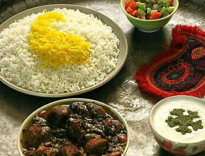 Ghorme Sabzi Khoresh Iranian Foods and Drinks