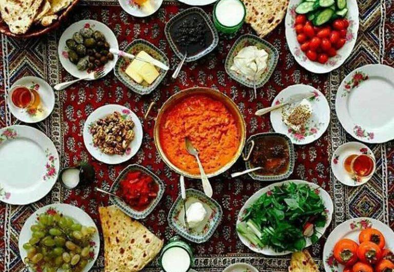 Iranian Breakfast 768x768