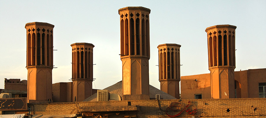 MP. Wind Catcher Wind Towers Yazd