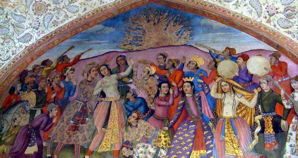 Safavid Chehelsotoon Isfahan Charshambe Souri
