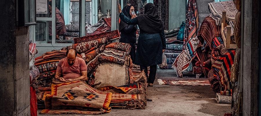 MP. Bazaar Bozorg Tehran iran