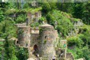 Château de Roud khan en Iran