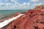 Hormuz Red Beach Gate of Nations Geo Tours