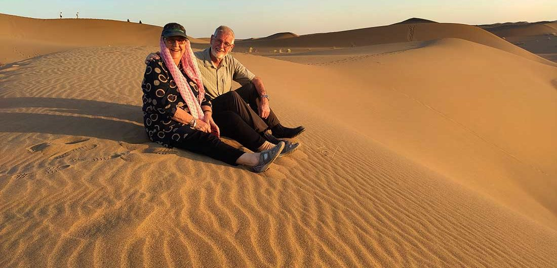 Maranjab Sandhills Brenda and Michael
