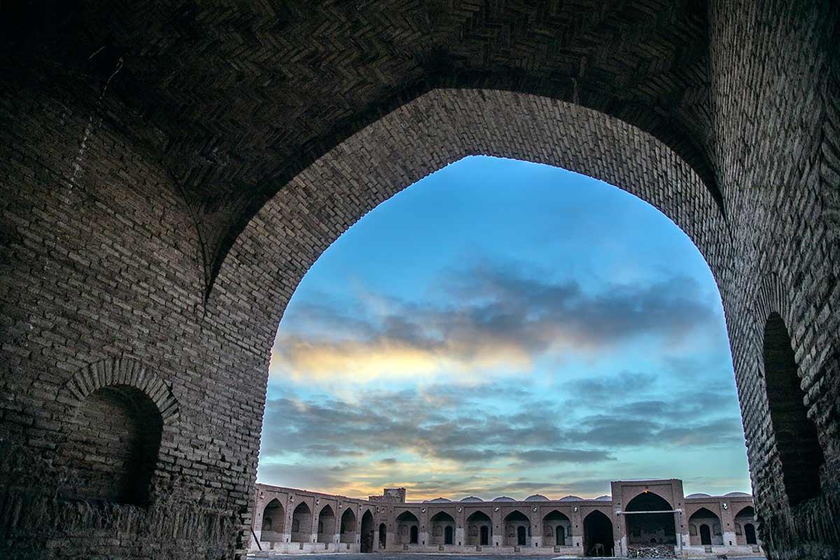 Deyr Gachin Caravenserai Qom Iran Gate of Nations Silk Road Tour
