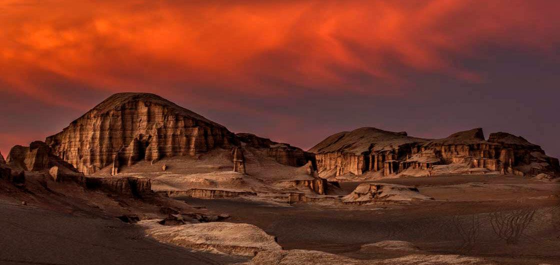 Kalut Shahdad desert Kerman Iran 1